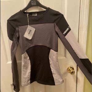 NEW gymshark long sleeve workout shirt